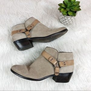 Sam Edelman Phoenix Harness Tan Booties Boots